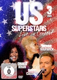 Cover Chaka Khan / David Cassidy / Dionne Warwick - US Superstars - Live In Concert [DVD]